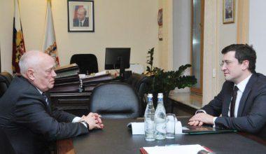 Глеб Никитин договорился о строительстве больницы для лечения детей с онкозаболеваниями