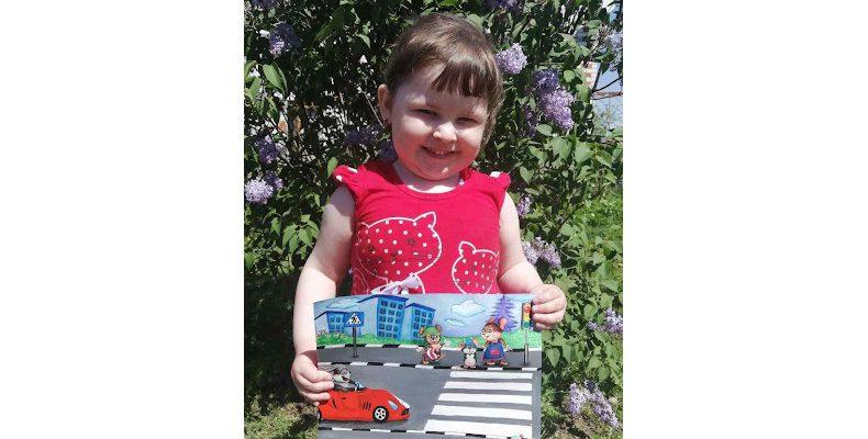 Детское творчество  за безопасные дороги