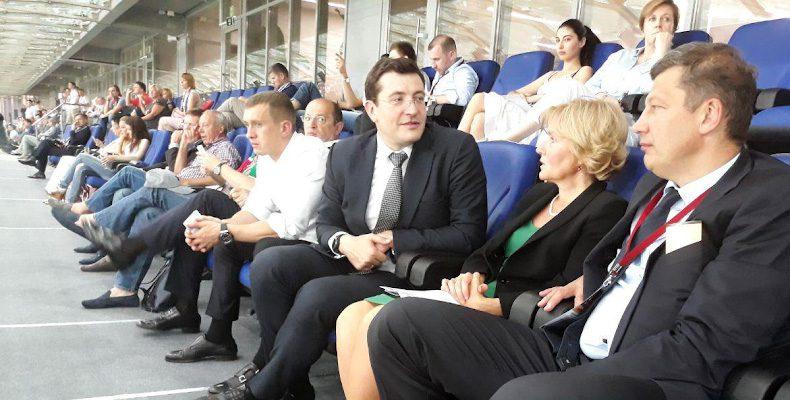 Никитин обсудил с Голодец развитие спорта в Нижегородской области