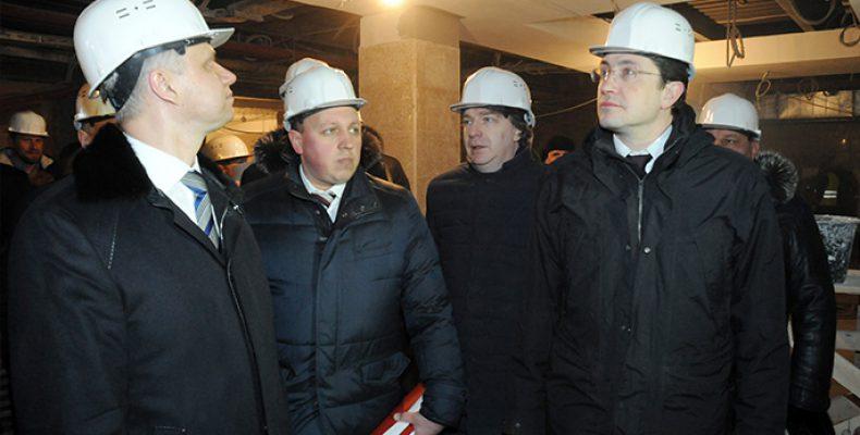 Работы по реконструкции Московского вокзала ведутся в две смены