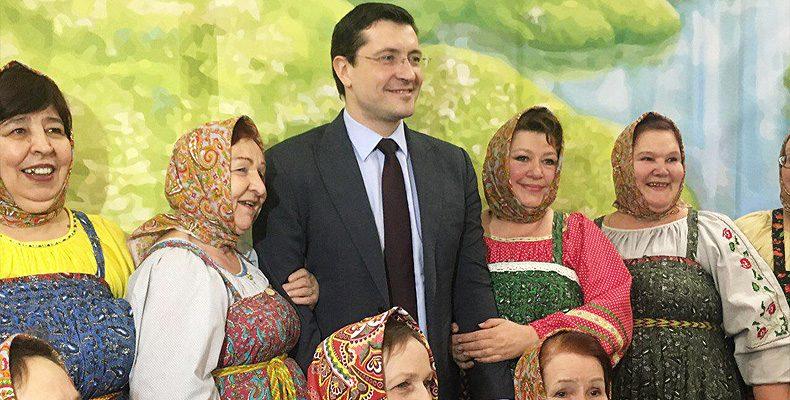 Глеб Никитин пригласил пенсионеров и ветеранов посетить исторический парк