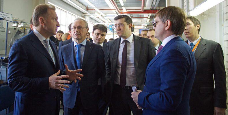 Первый вице-премьер России высоко оценил экспортный потенциал области