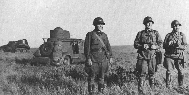 В Монголии русский солдат
