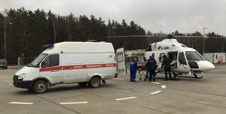 182 вылета выполнили медбригады санавиации с начала года в Нижегородской области