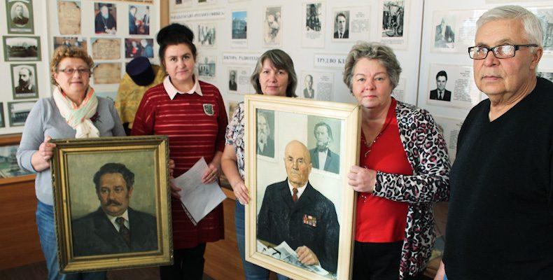Портреты в подарок музею