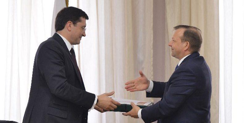 Глебу Никитину передали проект Стратегии – 2035
