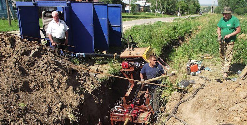 Строительство водопровода — под контролем