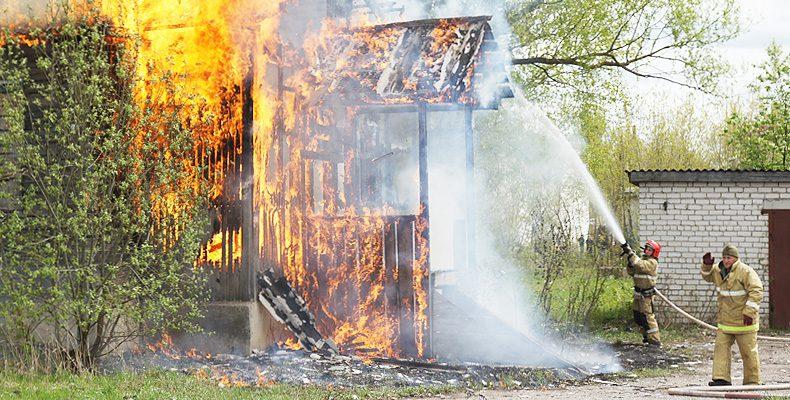 Было жилище, стало — пепелище