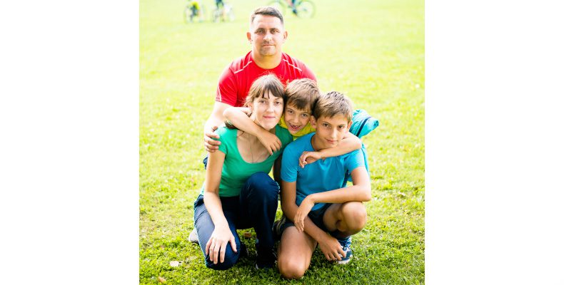 Мама, папа, я — спортивная семья