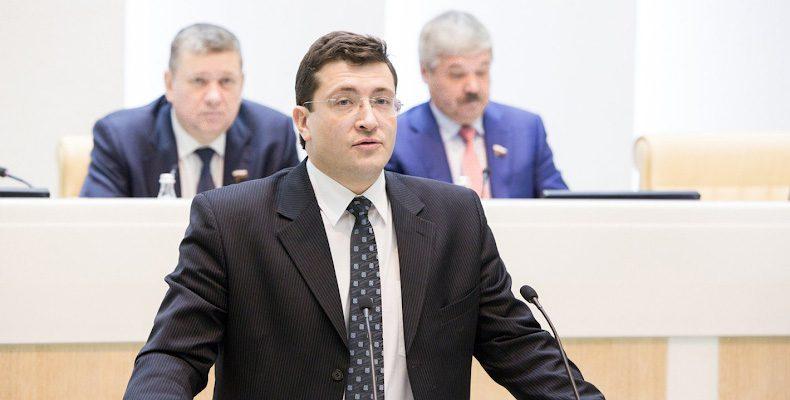 Первый отчет Глеба Никитина о работе областного правительства за 2017 год