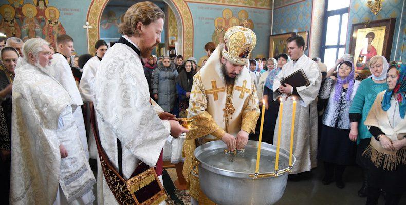 Крещенский визит епископа