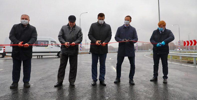 Глеб Никитин: «Дорогу Неклюдово-Золотово удалось сдать в эксплуатацию практически на год раньше срока»