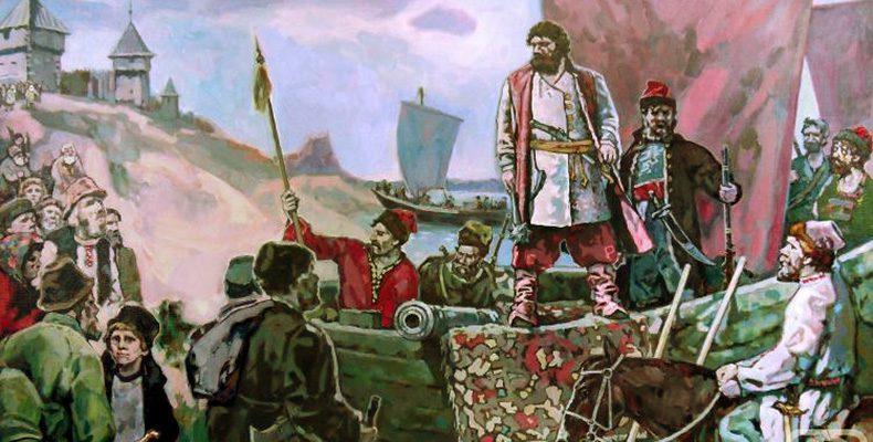 Лукояновцы в крестьянской войне под руководством Степана Разина