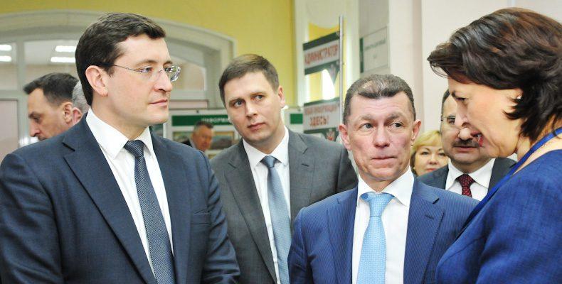Министр труда и соцзащиты РФ Максим Топилин высоко оценил нижегородские проекты по переквалификации