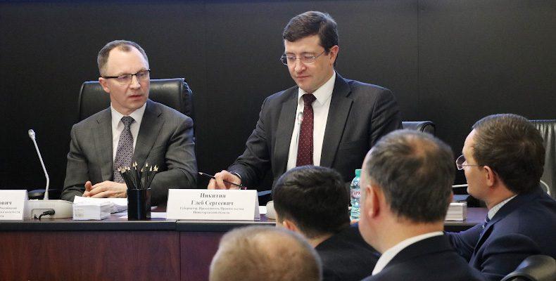 Обсудили вопросы строительства низконапорного гидроузла под Нижним Новгородом