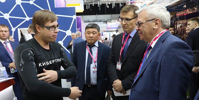 Глеб Никитин прокомментировал представленные на «ИННОПРОМ-2019» инновационные достижения Нижегородской области
