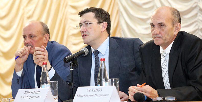 Глеб Никитин обсудил с жителями Ветлужского района проблему ремонта дорог