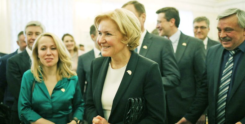 Глеб Никитин рассказал Ольге Голодец о планах по развитию спортивной инфраструктуры