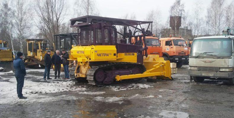 В Нижегородскую область едет лесопожарная техника