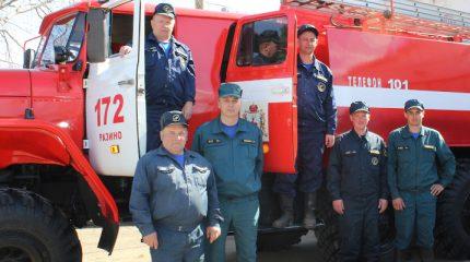 Горячие будни пожарных