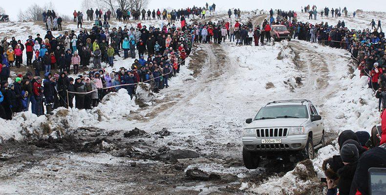 В Лукоянове прошли традиционные зимние гонки
