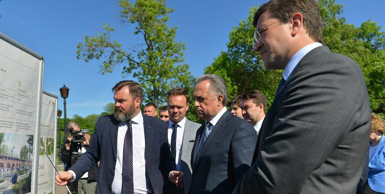 Глеб Никитин предложил модернизировать Кремль к 800-летию Нижнего Новгорода
