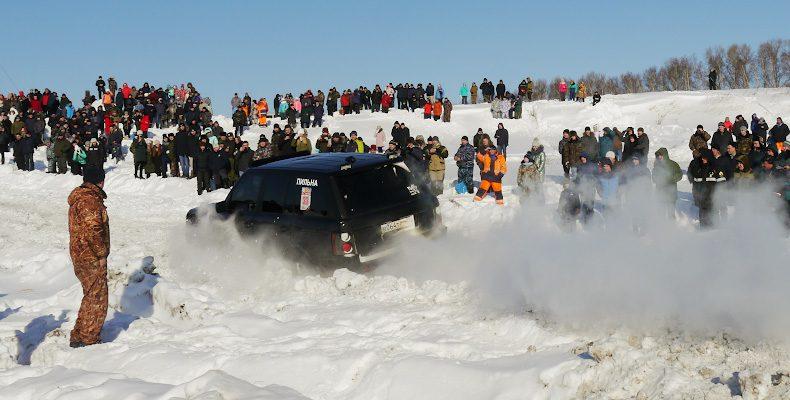 Снежные виражи в День защитника Отечества