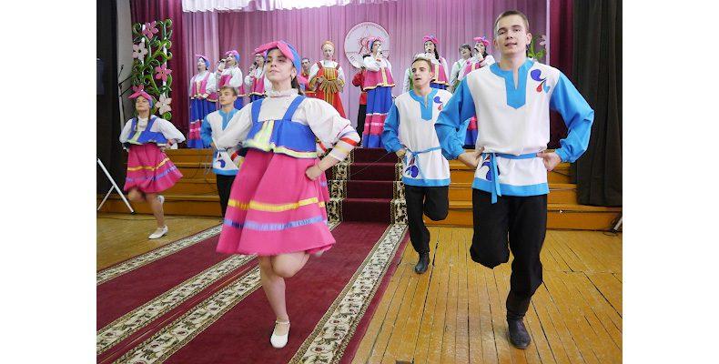 На фестивале национальностей