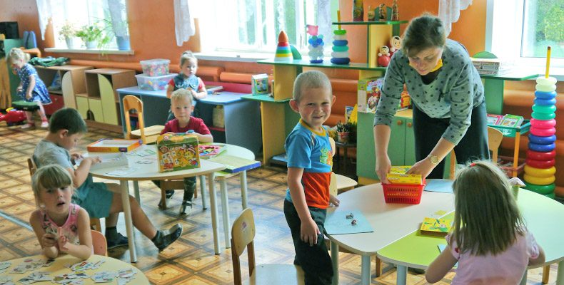 Заботы и радости сельского детского сада